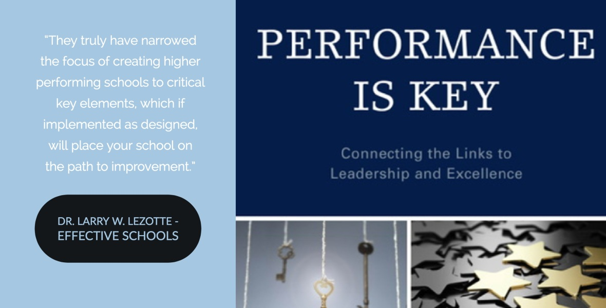 Infographic with Book Cover and Quote from Larry Lezotte