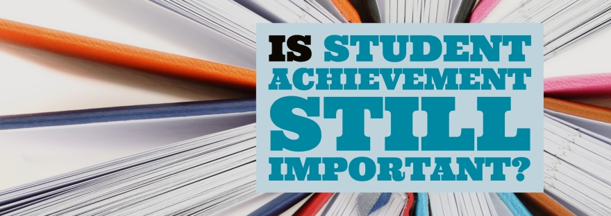 Graphic of is student achievement still important?
