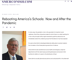 Rebooting schools article